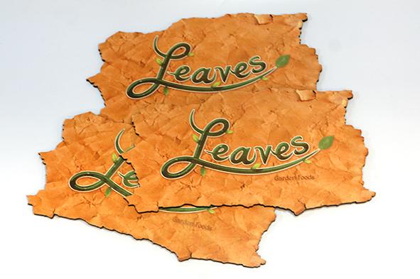 Leaves garden