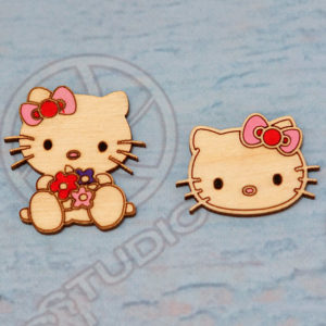 HELLO KITTY բրոշ