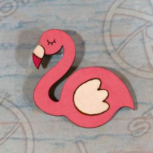 Flamingo բրոշ