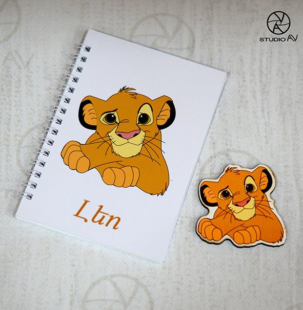 Lion King նոթատետր